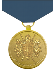 25 comments medal