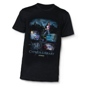 CI-Cypress Library T-Shirt