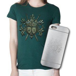 T-Shirt and iPhone Case Bundle