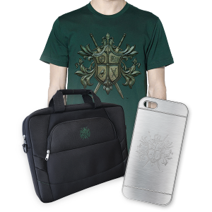 T-Shirt, iPhone Case and Laptop Bag Bundle